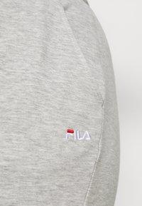 Fila Plus - EIDER PANTS - Verryttelyhousut - light grey melange bros - 4