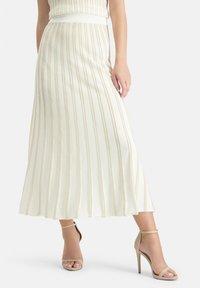 Nicowa - A-line skirt - wei㟠- 0
