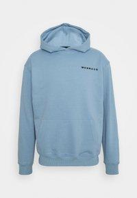 Mennace - MENNACE ESSENTIAL HOODIE - Sweatshirt - sky blue - 0