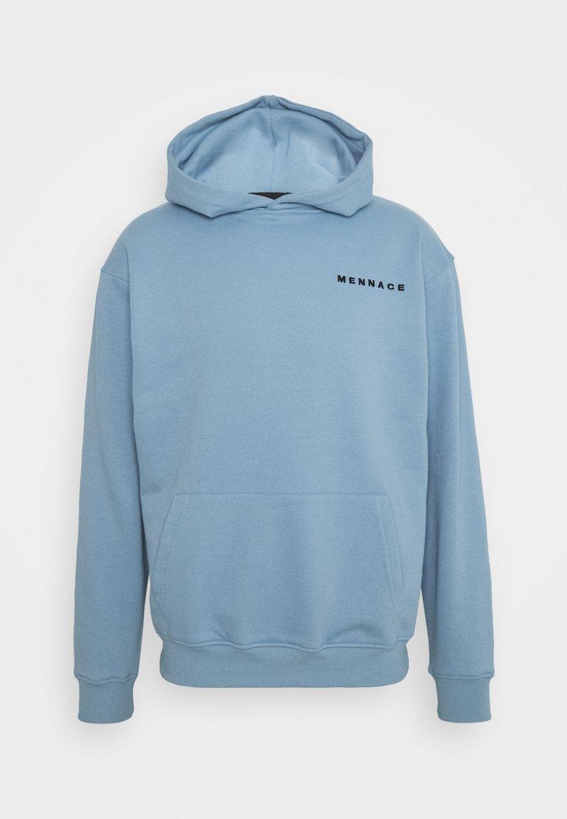 Mennace - MENNACE ESSENTIAL HOODIE - Sweatshirt - sky blue
