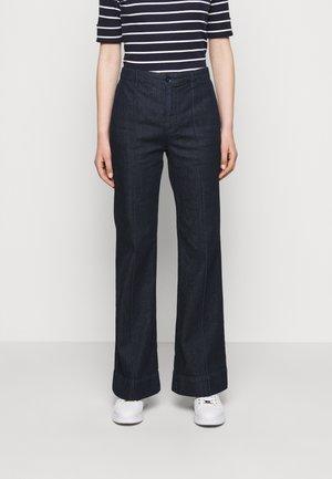 Straight leg jeans - rinse wash
