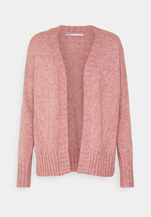 ONLSANDY CARDIGAN - Kardigan - dusty rose melange