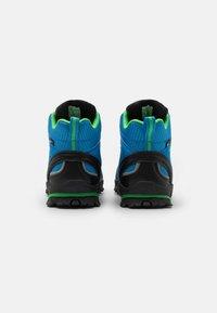 TrollKids - KIDS TROLLTUNGA MID UNISEX - Hiking shoes - medium blue/green - 2