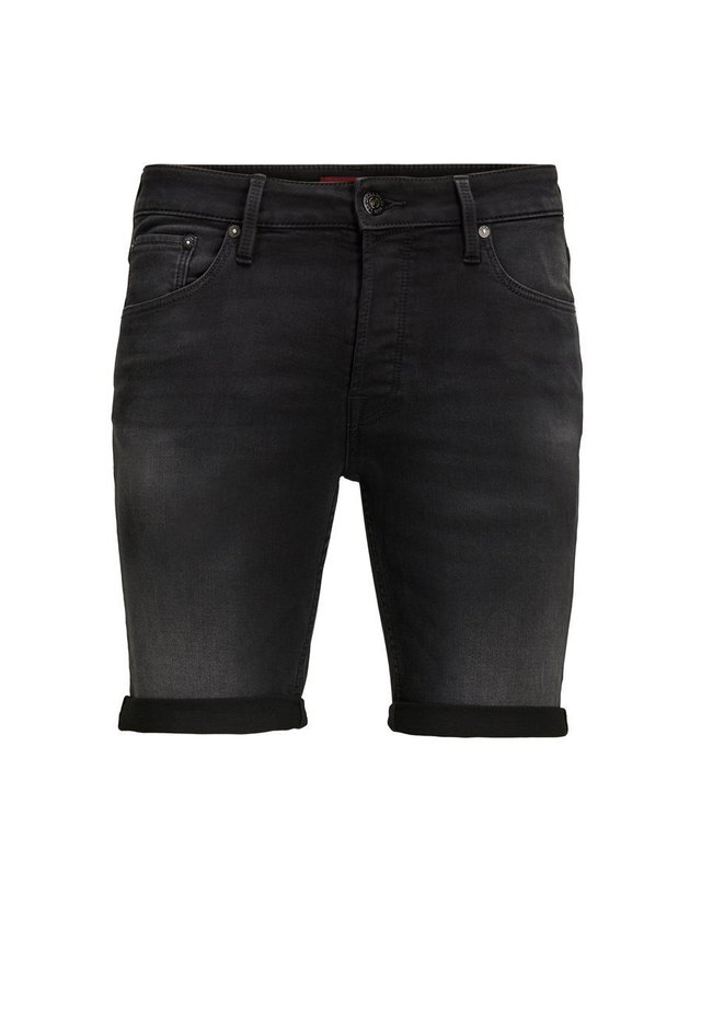 RICK  - Short en jean - black denim