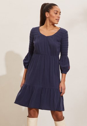 GLORIA - Jersey dress - dark blue