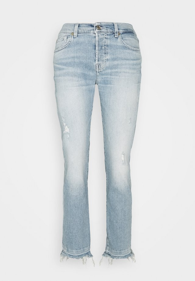ASHER LUXE VINTAGE   - Slim fit jeans - light blue