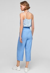 s.Oliver - Trousers - light blue - 2