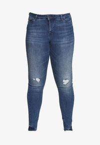 JRFOURMANELLA - Jeans Skinny Fit - medium blue denim