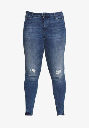 JRFOURMANELLA - Skinny džíny - medium blue denim