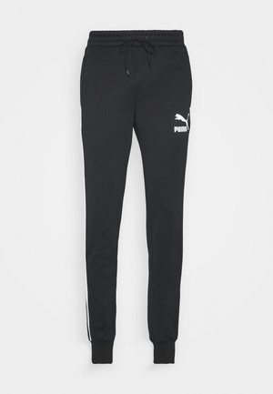 ICONIC  - Tracksuit bottoms - black