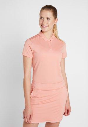 Funkční triko - rush pink/flat silver