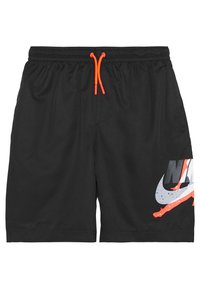 Jordan - JUMPMAN POOLSIDE SHORT - Urheilushortsit - black - 0