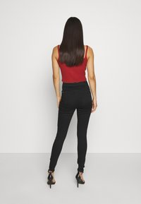 Missguided - VICE HIGH WAISTED - Jeans Skinny Fit - black - 2