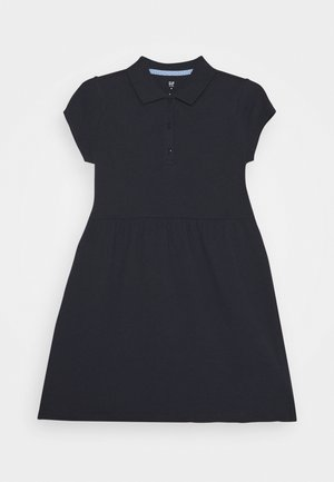 GIRL POLO DRESS - Korte jurk - true indigo