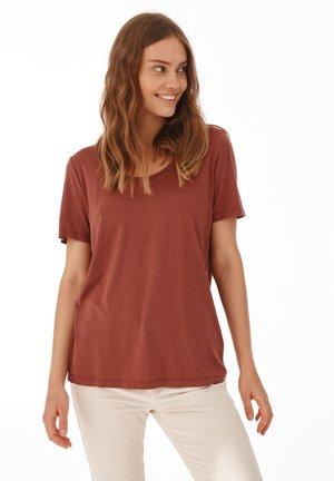 AMO  - T-shirt basic - rouge