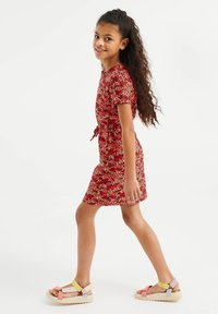 WE Fashion - Korte jurk - red - 0