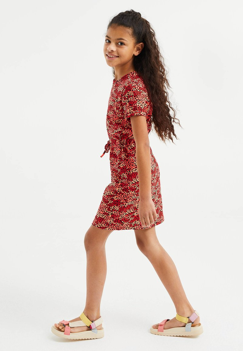 WE Fashion - Korte jurk - red