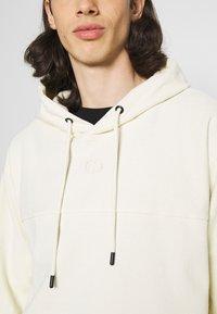 Criminal Damage - LOOPBACK HOOD - Sweater - beige - 5