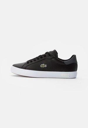POWERCOURT - Sneakers - blk/dk gry