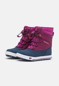 Merrell - SNOW BANK 2.0 WTRPF UNISEX - Winter boots - berry - 1