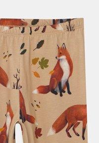 Walkiddy - FOXES UNISEX - Leggings - Trousers - beige - 2