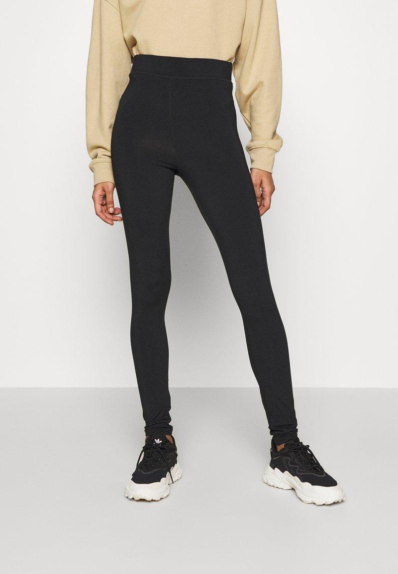 Monki - LOISA - Leggings - black