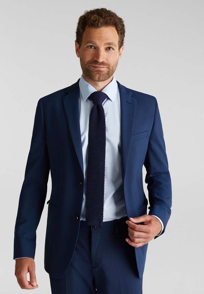 Esprit Collection - Tie - dark blue