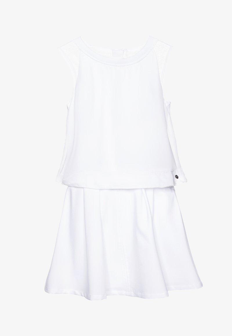 BOSS Kidswear - DRESS - Koktejlové šaty/ šaty na párty - white