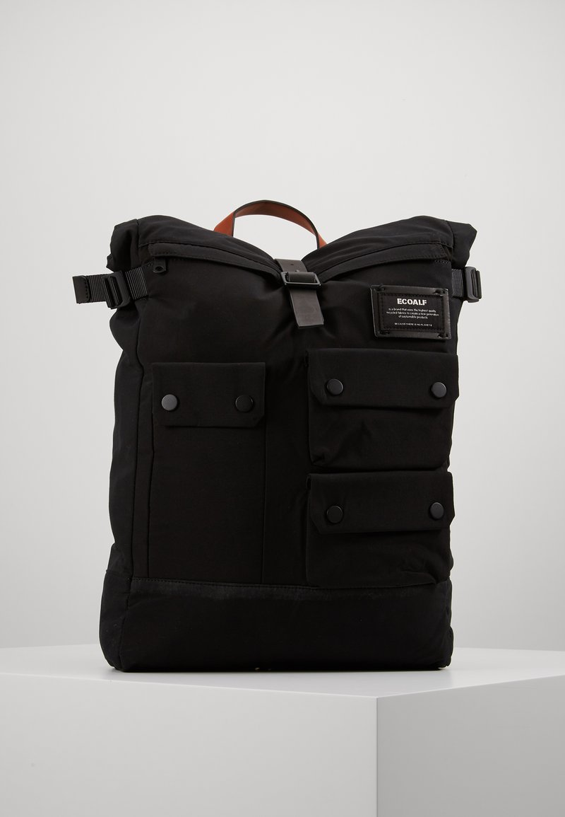Ecoalf - MULTIPOCKET BACKPACK - Reppu - black