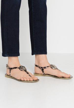 JAXX - T-bar sandals - multicolor