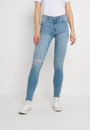PLENTY - Jeans Skinny Fit - storm light blue ripped