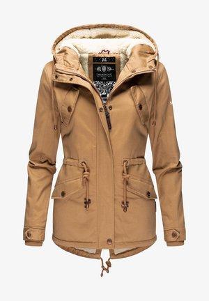 MANOLYA - Winter coat - camel