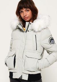 Superdry - EVEREST ELLA - Winter jacket - light grey - 0