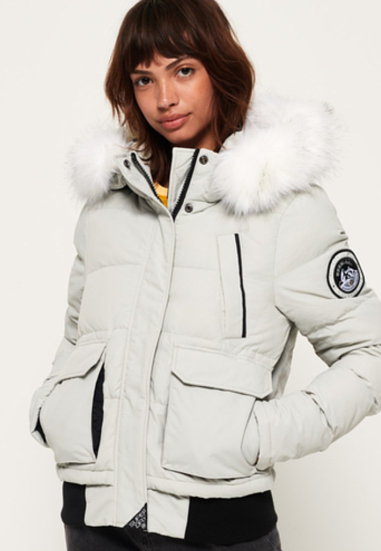 Superdry - EVEREST ELLA - Winter jacket - light grey