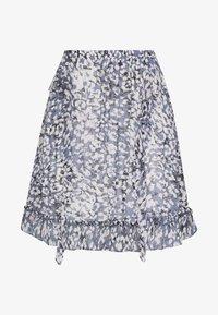 Second Female - CLOUDS SHORT SKIRT - Mini skirt - faded denim - 4