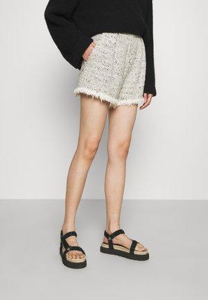TIMBER - Shorts - ecru grey/natural grey