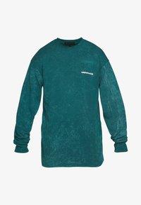 Mennace - ACID WASH BACK - Long sleeved top - teal - 4