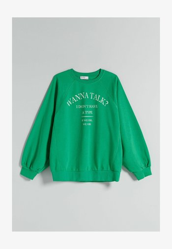 OVERSIZE - Sweatshirt - green