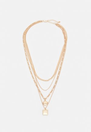PCMOKIA COMBI NECKLACE - Collier - gold-coloured