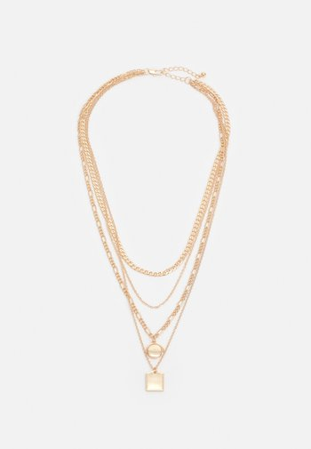PCMOKIA COMBI NECKLACE - Ketting - gold-coloured