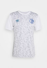 Umbro - FC SCHALKE 04 WARM UP - Squadra - brilliant white/zen blue