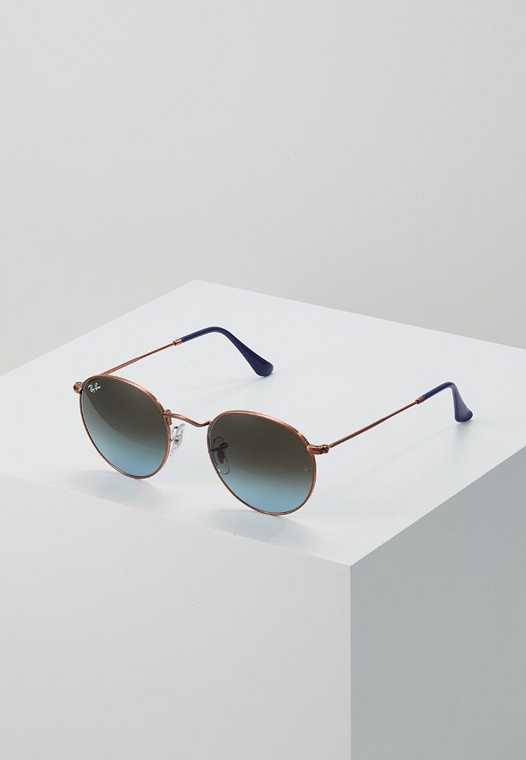 Ray-Ban - 0RB3447 ROUND METAL - Okulary przeciwsłoneczne - blue gradient brown