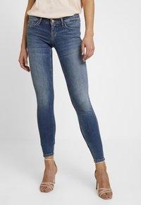 ONLY - Jeans Skinny Fit - medium blue denim - 0