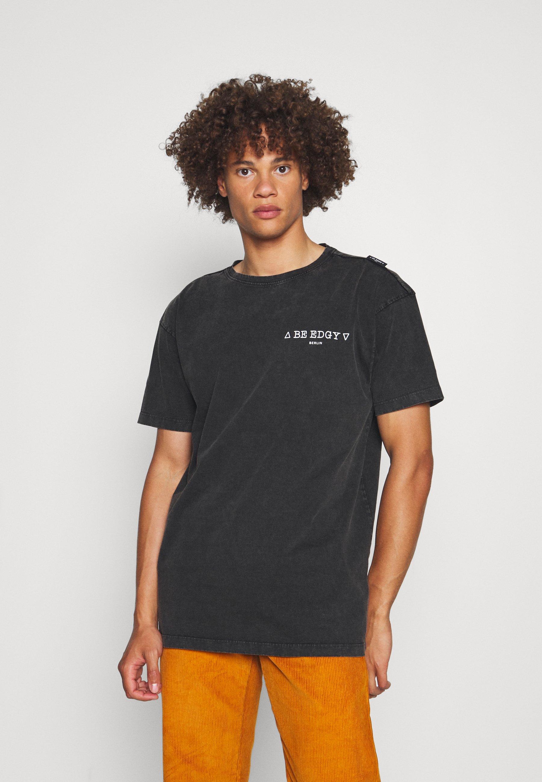 Homme PAULUS - T-shirt imprimé - black