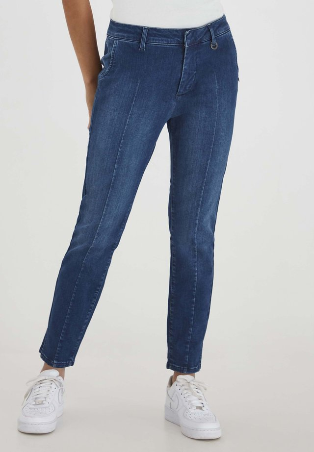 PZCLARA - Jeans slim fit - dark blue denim