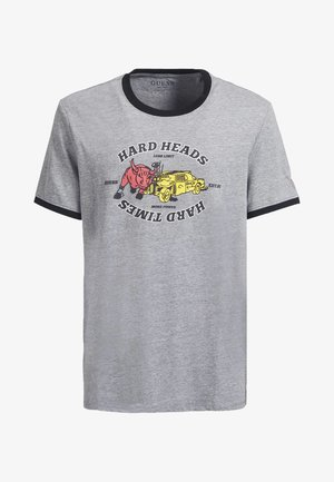 T-shirt con stampa - hellgrau