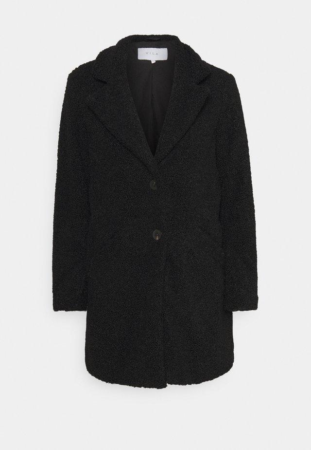 VILIOSI TEDDY PETITE - Płaszcz wełniany /Płaszcz klasyczny - black