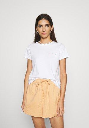 TEE GOOD VIBE - T-shirt print - white