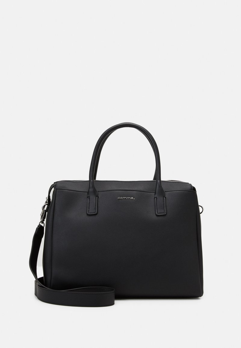 comma - HIDE AND SEEK HANDBAG - Handbag - black