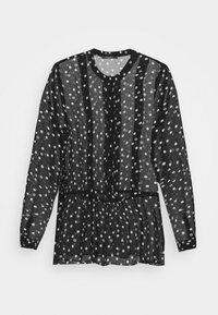 Bruuns Bazaar - DOTTA ALEQA BLOUSE - Blouse - black - 6